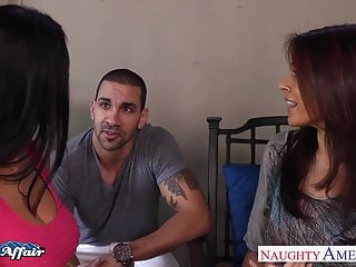 Raylene bukkake - Hot neighbors ava addams and raylene lick twats and fucking