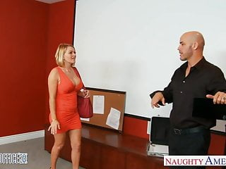 Big tits babe nailed Blonde office babe krissy lynn gets nailed