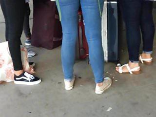 Foregin porn Foregin bubble butt at fll airport 1