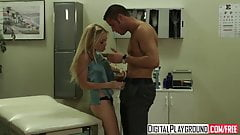 blonde teen Jesse Jane wants her doctors cock