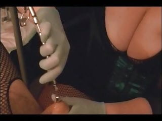 Urethral cock play Urethral sounding by my mistress