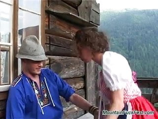 Fucking mountain climb - Mountain fuck fest hard oral job in the alpens and cum