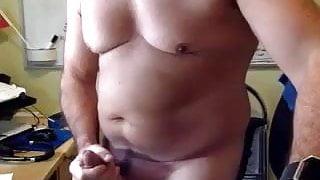 Daddy big belly, big pecs, big cock