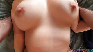 Stepmom comes home from yoga class wanting sex
