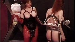 Ball gagged little trollop needs to be punished