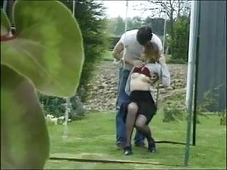 5.56 urban cover penetration - British teen slag gets fucked and covered in cum