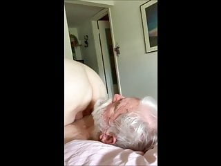 Hailey plant city escort Granny plants her pussy on lucky lovers face