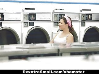 Skinny petit teen fuck Exxxtrasmall - petite teen fucked in laundromat