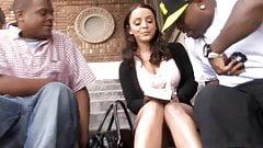 Anal Slut Liza Del Sierra Picked Up By Black Guys