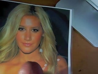 Ashley tisdale almost naked Ashley tisdale cum tribute 1