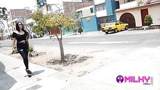 Venezuelan Jasmine Caught Fucks A Virgin Fan