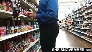Walmart Manager Creampied & Jizzed My Face After Escorting
