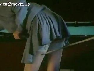 Billiard ball up the ass - Emmanuelle forever - sex on billiard table
