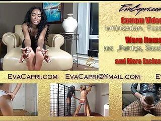 Humiliation femdom ass worship Eva capri cuckold ass worship teaser