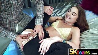 5KTEENS Megan Marx Creampied in Ripped Panties