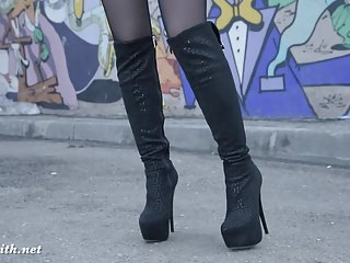 Kellita smith ass pics Jeny smith pantyhose and high heels fetish tease