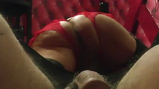 Crotchless Red Knickers Intro
