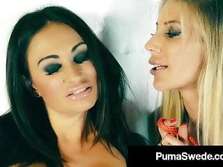 Puma swede anal dilo Busty blonde babe puma swede anal bangs claudia valentine