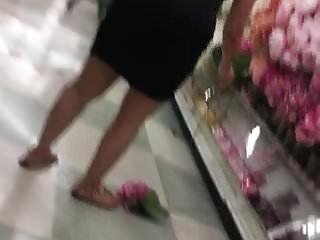 Bendover ass and pussy yurizan - Massive ass bendover upskirt