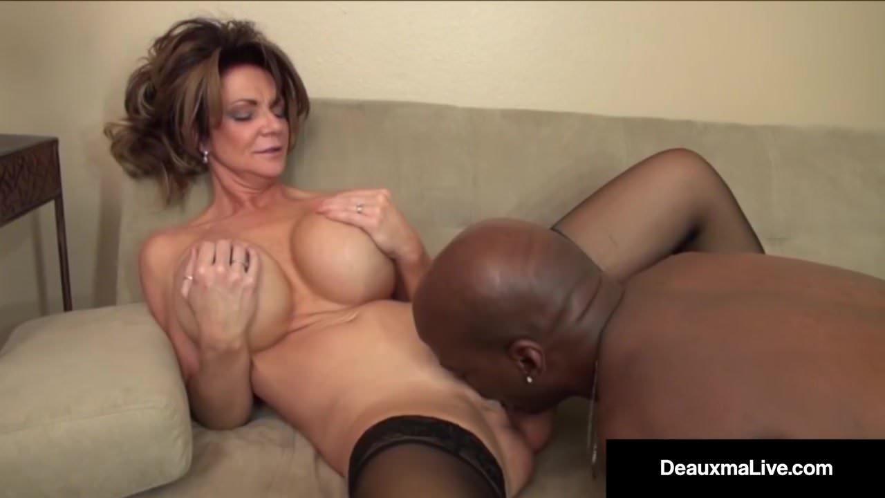 Big black cock titty fuck
