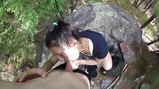 Hot Amateur Couple With a Nice Outdoor Fuck