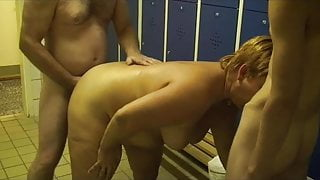 Gym changing room 1