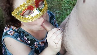 Fucking in the field - Russian outdoor sex