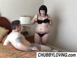 Goth xxx pic - Cute chubby goth candi enjoys a sticky facial cumshot