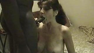 Big tit latina gets BBC facial cumshot!