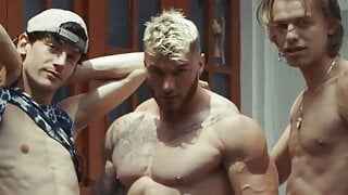 Sexy Trio William Edward Leo In Hot Gay Fuck By GregoriusPLK