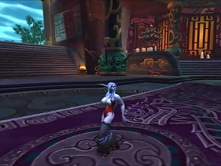 Draenei hentai clip - Night elf draenei dance