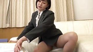 Japanese Pantyhose face sitting farts