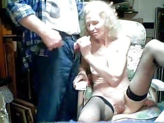 Masterchief sucks at halo3 Elderly mom, 70 yo, sucks at the guy son amateur webcam