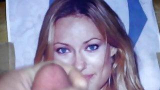 Cum Video over Blonde OLIVIA WILDE 2