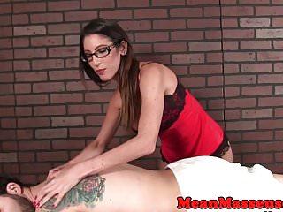 Lingerie club customer of month - Spex masseuse cum controlling customer