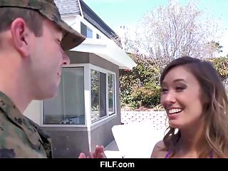 Asian american soldiers Stepmom welcomes her soldier stepson home