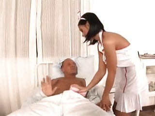 Congenital deformity facial patient resource Black angelica - nurse taking care of her patient