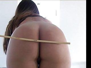 Bdsm cane kj - Plumper girl naked caning