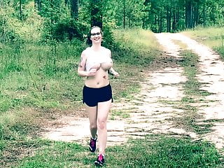 Running scared ass pics Mom slow mo run big tits