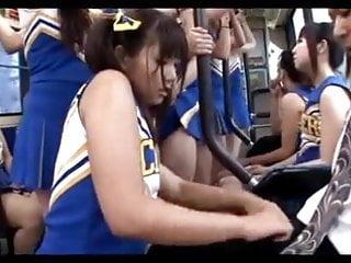 Cheerleeder fuck Censored asian cheerleeder assjob on panty