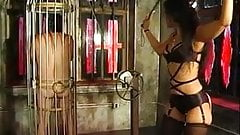 Hot looking mistress Delilah teasing and taunting her slave