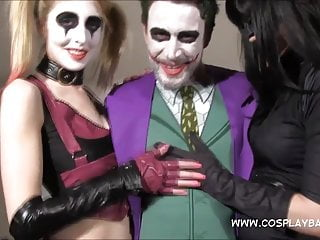Adult jokes for free Cosplay babes jokes banging harley quinn and catwoman fuck