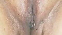 Desi wife's erotic pussy massage