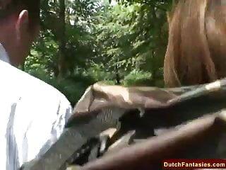Dick holland Fucking a dutch milf in holland park