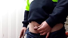 Work  piss outside