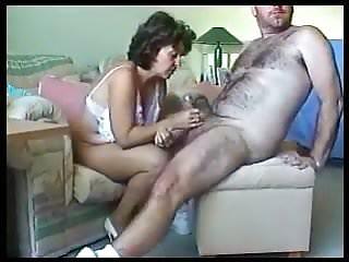 Fucking aunt sandy at home Sandie fucked hard