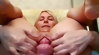 Huge gape and prolapse compilation