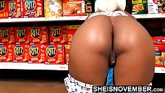 HD Msnovember Spreading Her Butthole & Black AssCheeks Open