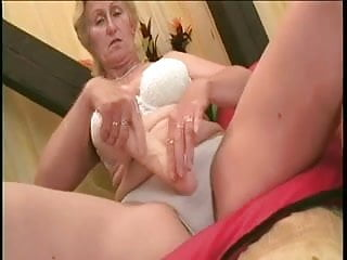 Gallery lady sex sexy - Monica: big young cock and one dildo for the sexy old lady