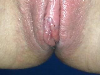 Clit on cock - Slut girlfriend tries to pee on cock gf 2